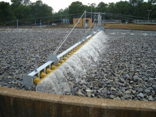 secondary treatment in purification of industrial waste water
